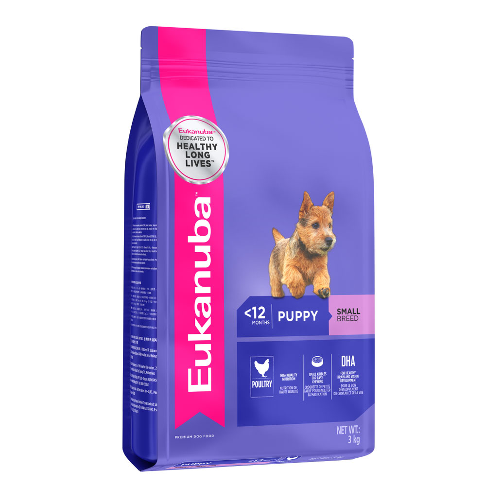 Eukanuba Puppy Food For Small Breed Dogs Pet Hero