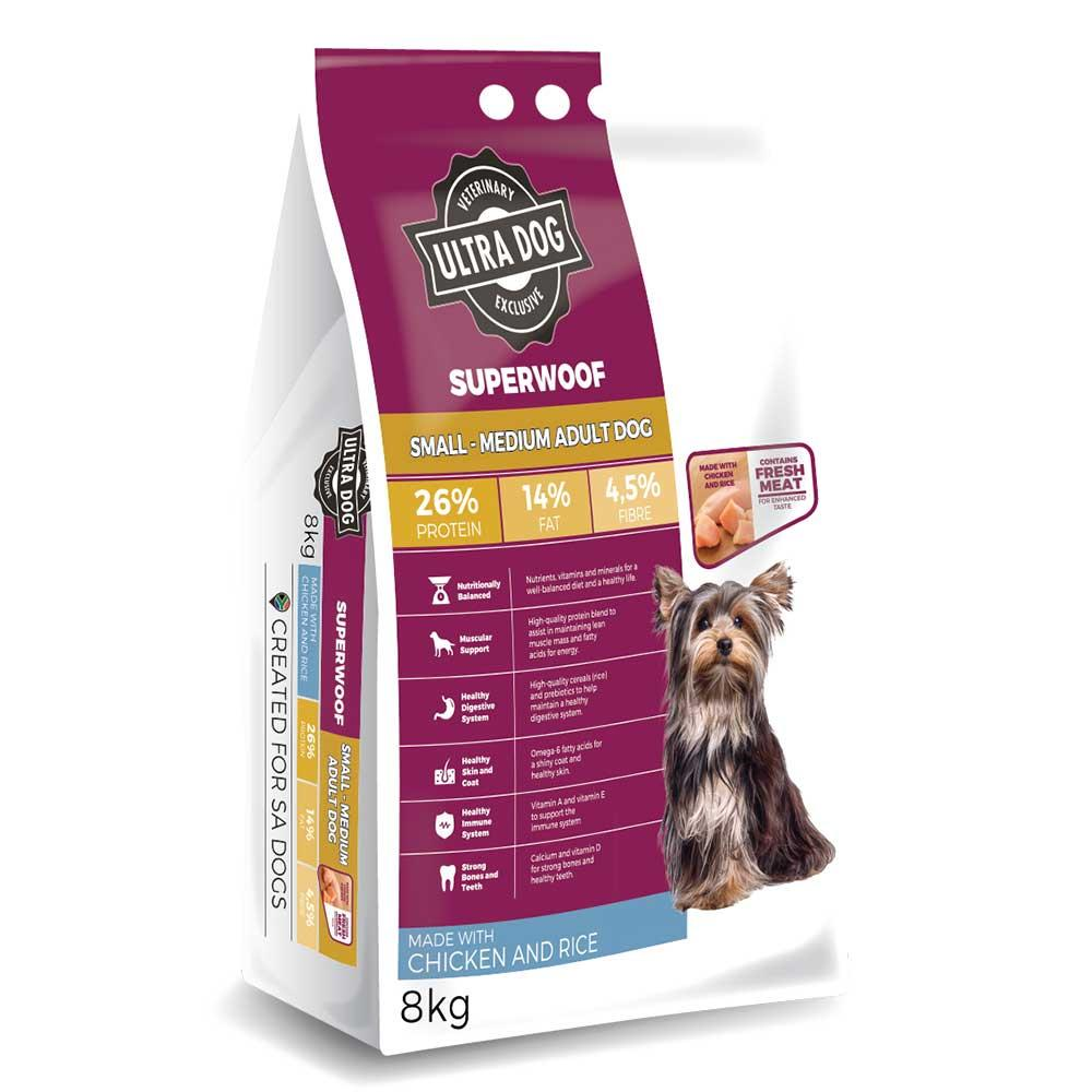 Ultra Dog Superwoof Adult Chicken and Rice