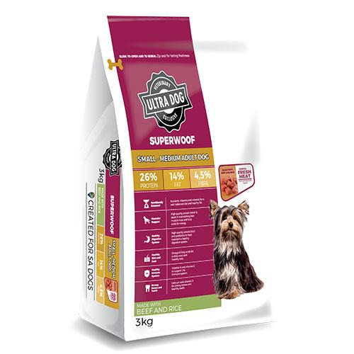 Ultra Dog Superwoof Adult Beef and Rice