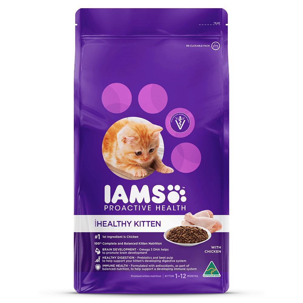 Iams Proactive Health Kitten & Junior Cat - Roast Chicken