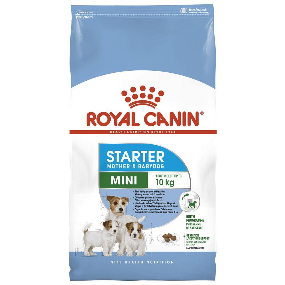 royal canin mini starter mother and babydog dog food pet. Black Bedroom Furniture Sets. Home Design Ideas