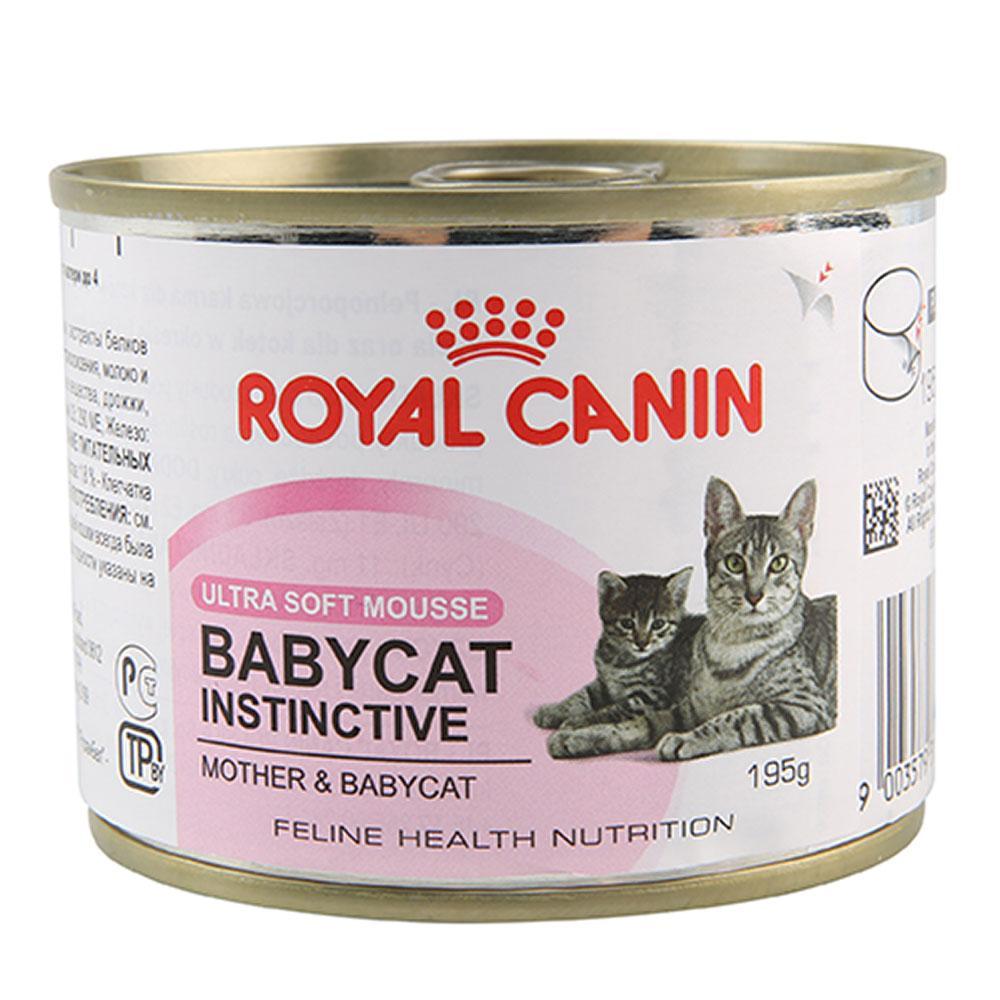 royal canin mother and babycat instinctive can pet hero. Black Bedroom Furniture Sets. Home Design Ideas