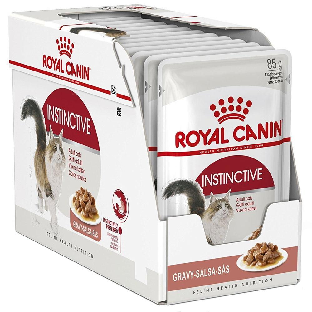 Royal Canin Feline Instinctive Chunks in Gravy pouch