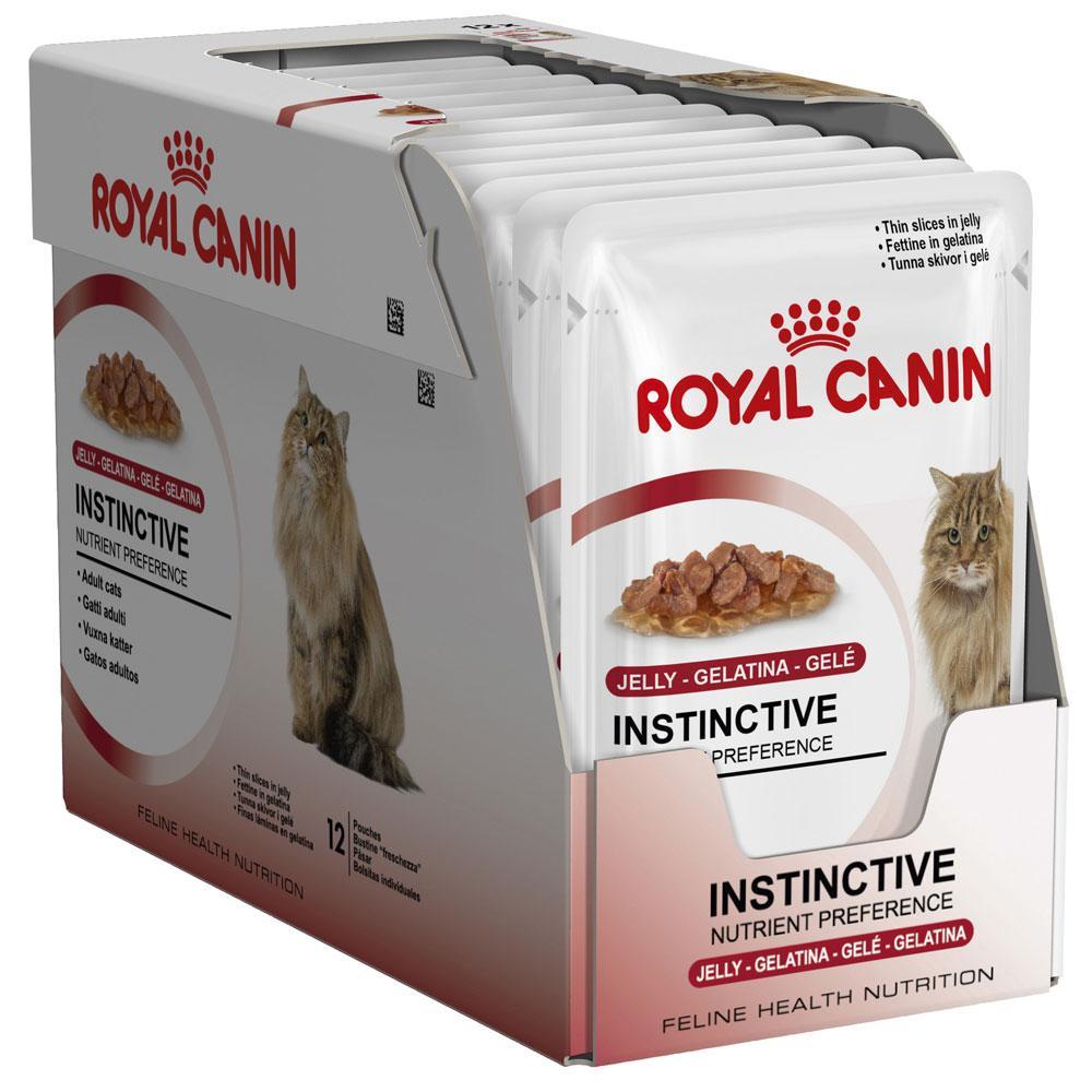 Royal Canin Feline Instinctive Chunks in Jelly pouch