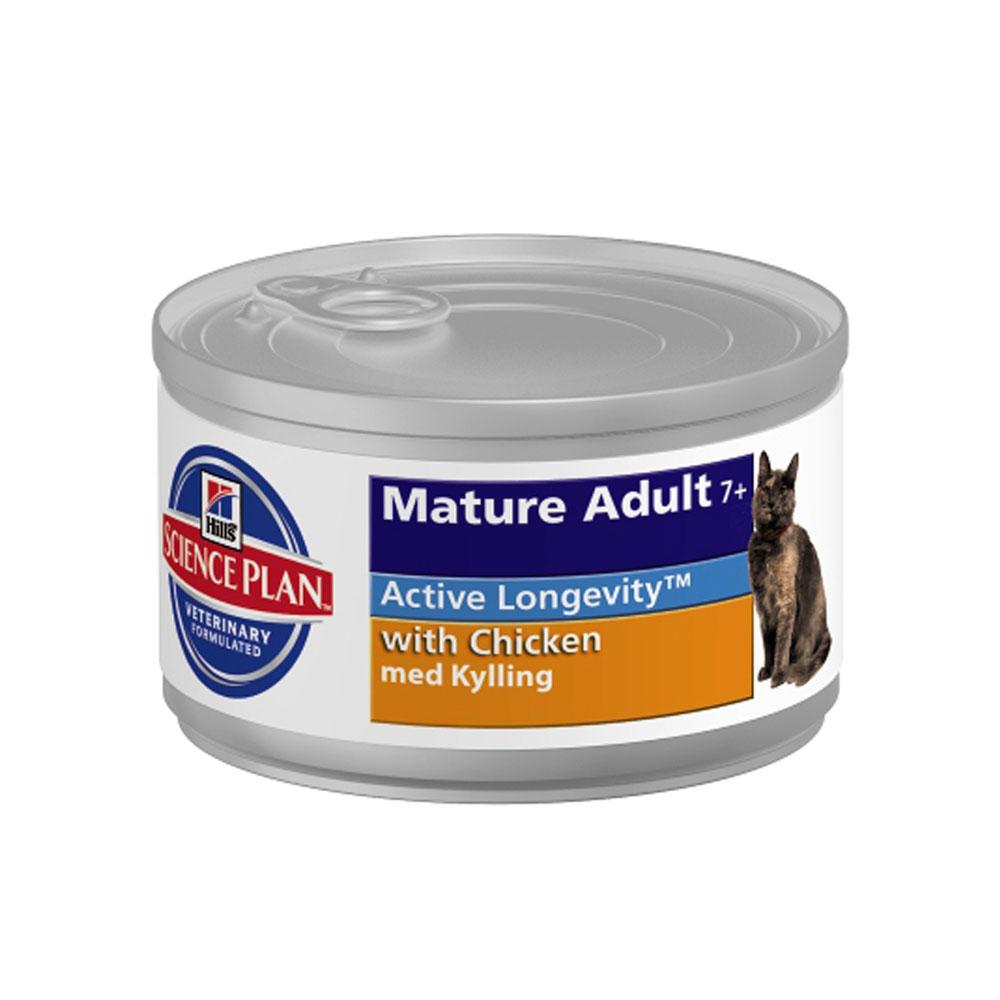 Hill's Feline Active Longevity Mature Can