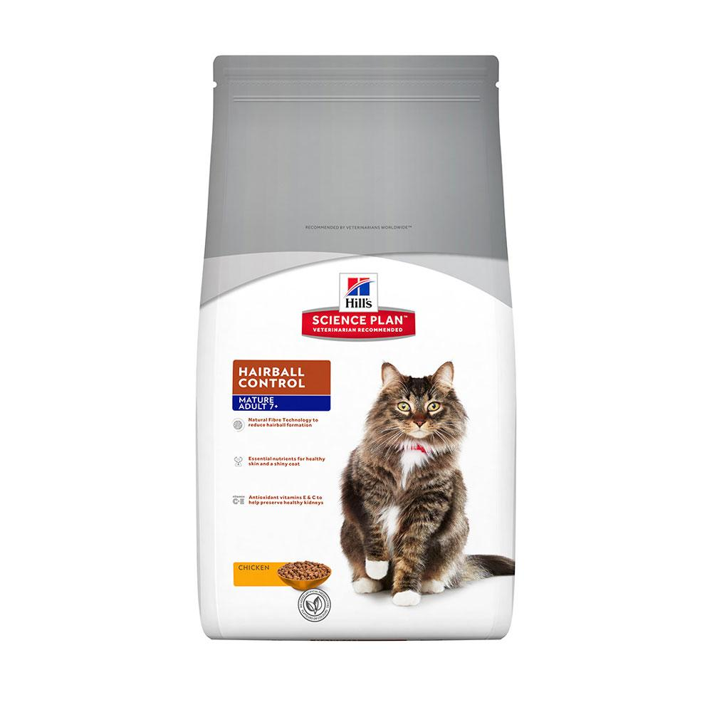 Hill's Feline Mature Adult Hairball Control