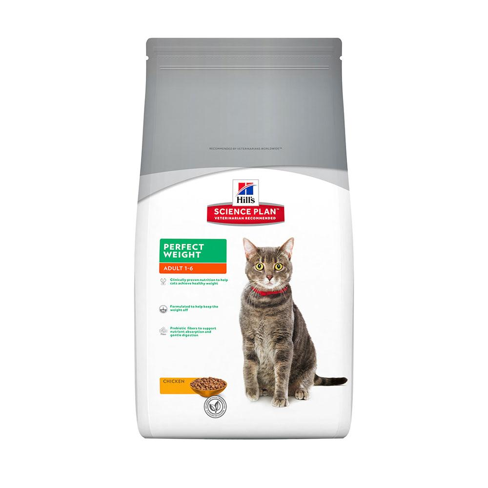 Hill's Feline Adult Perfect Weight with Chicken