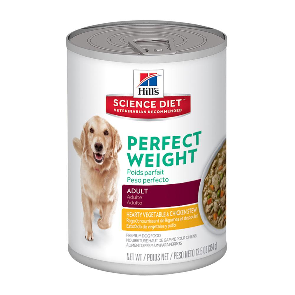 Hill's Canine Perfect Weight Stew Can