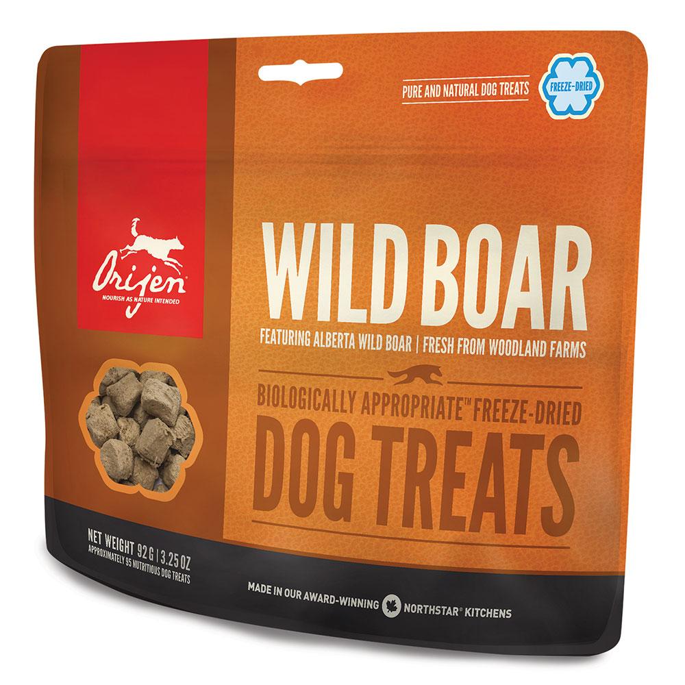 Orijen Wild Roaming Boar Dog freeze dried treats