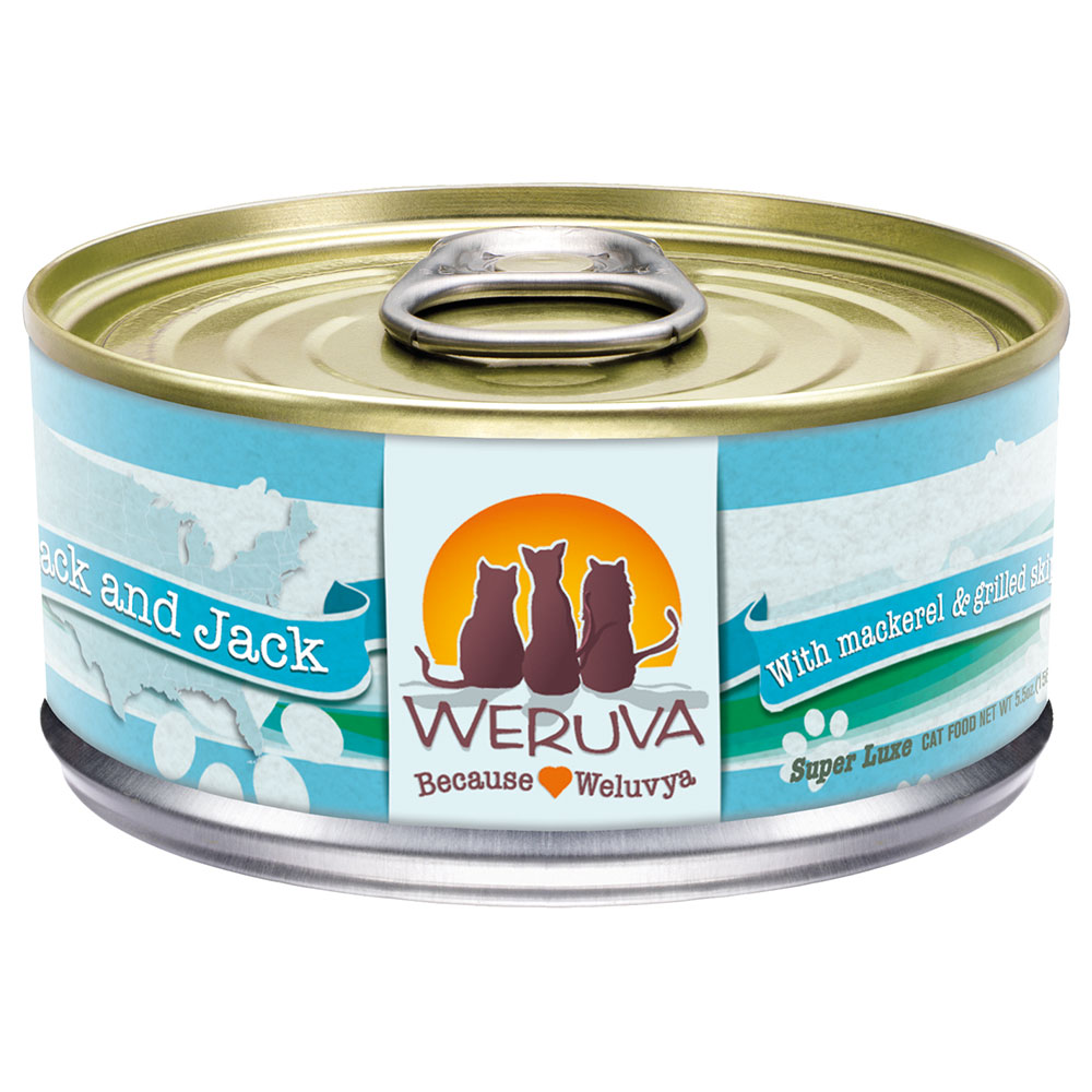 Weruva Mack and Jack Cat Food in a Can