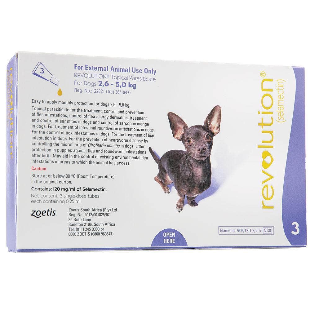 Revolution for Dogs (2.6 - 5 kg