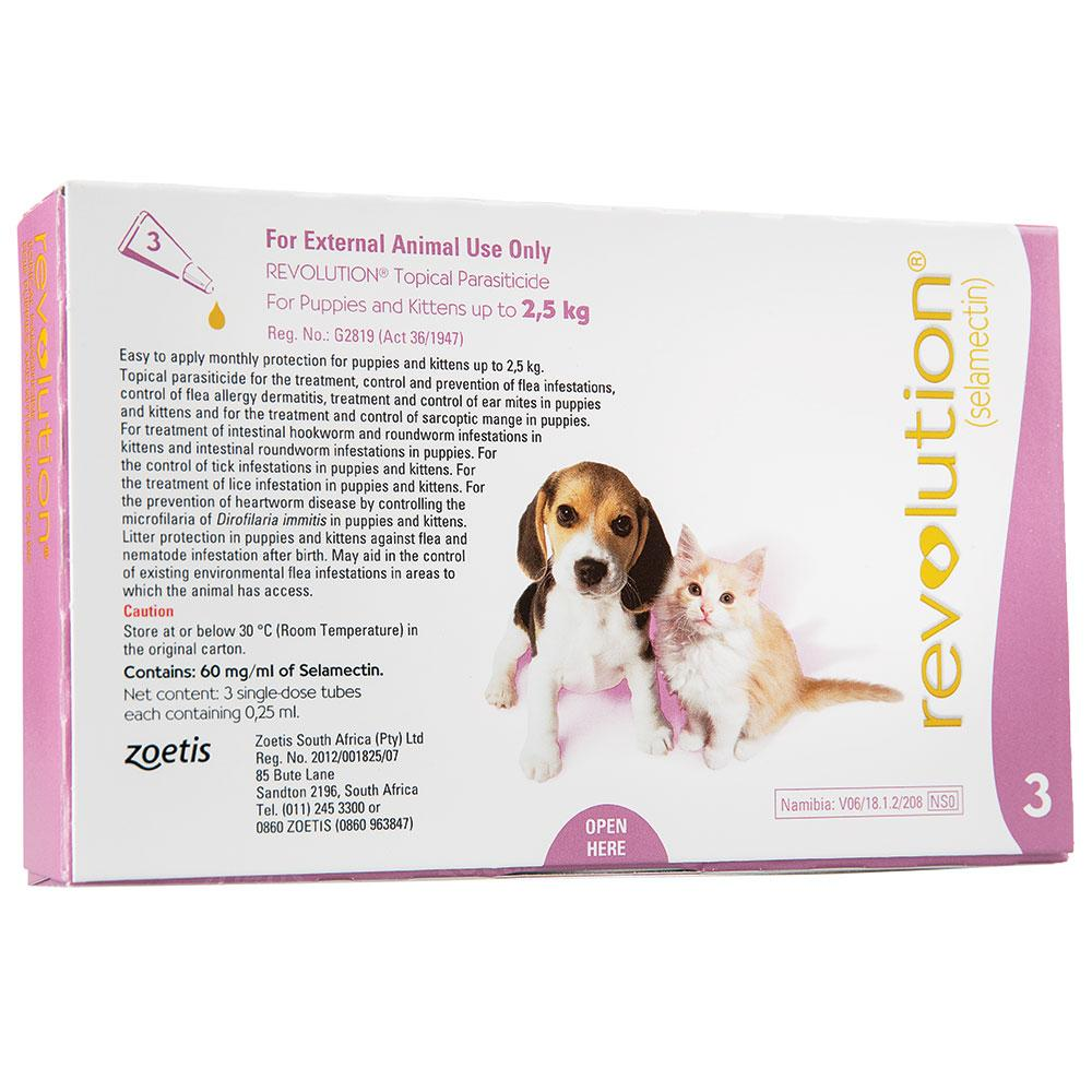 Revolution for Puppies and Kittens (up to 2.5kg)