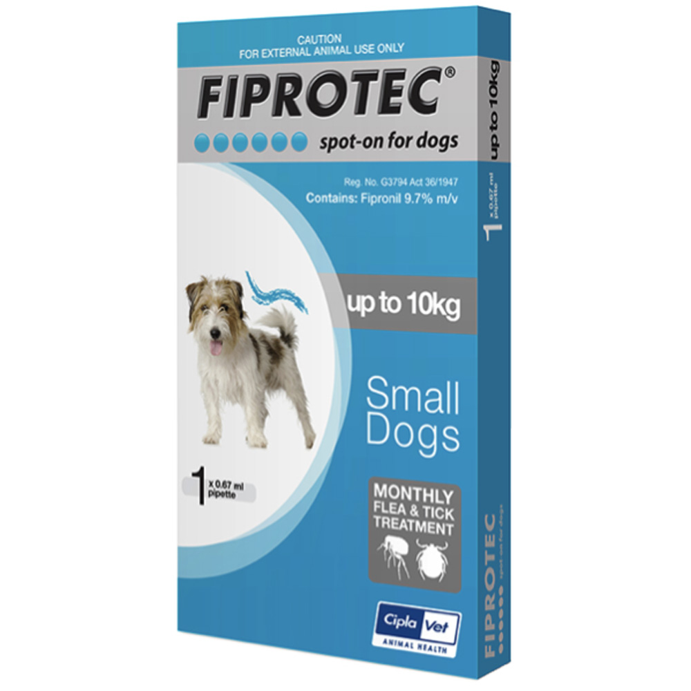 Fiprotec < 10 kg Small Dog