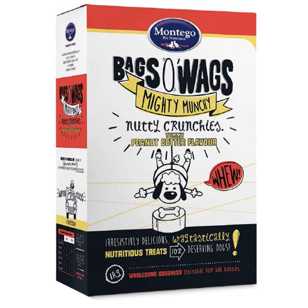 Montego Bag O' Wags Crunchies Peanut butter