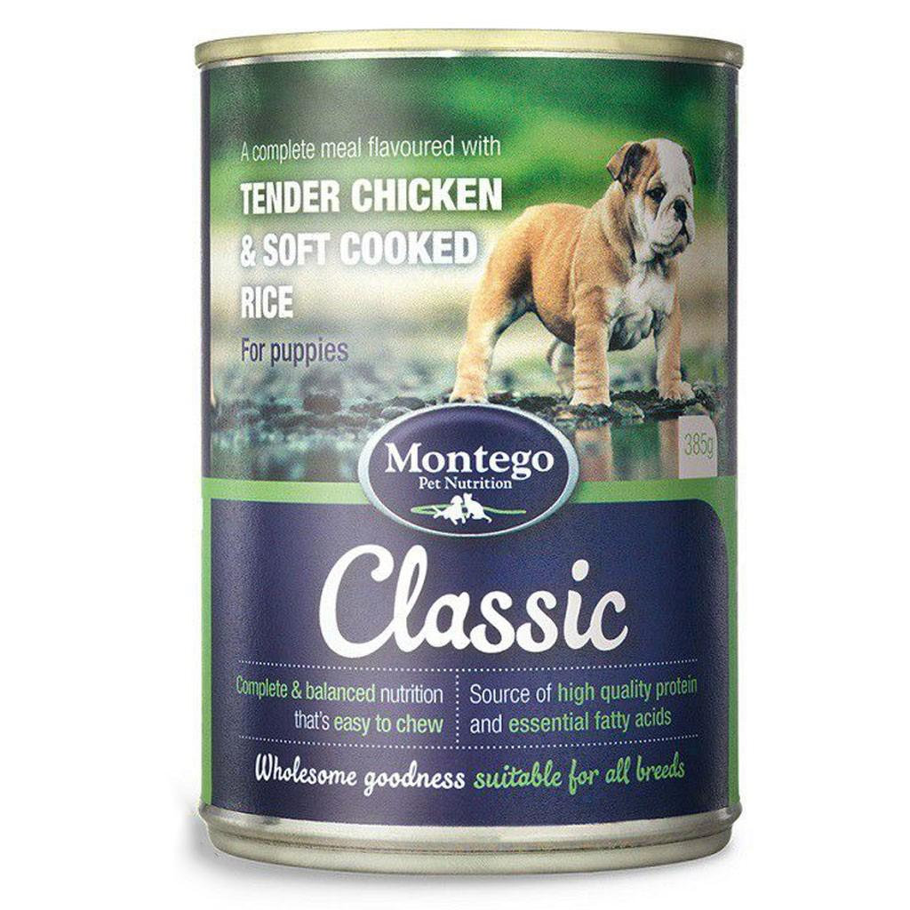 Montego Classic Puppy Wet Food - Tender Chicken & Soft Cooked Rice