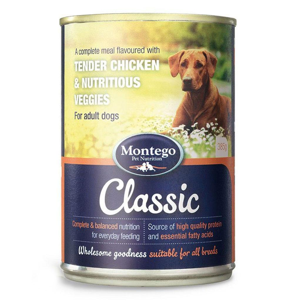 Montego Classic Adult Dog wet food - Tender Chicken & Nutritious Veggies