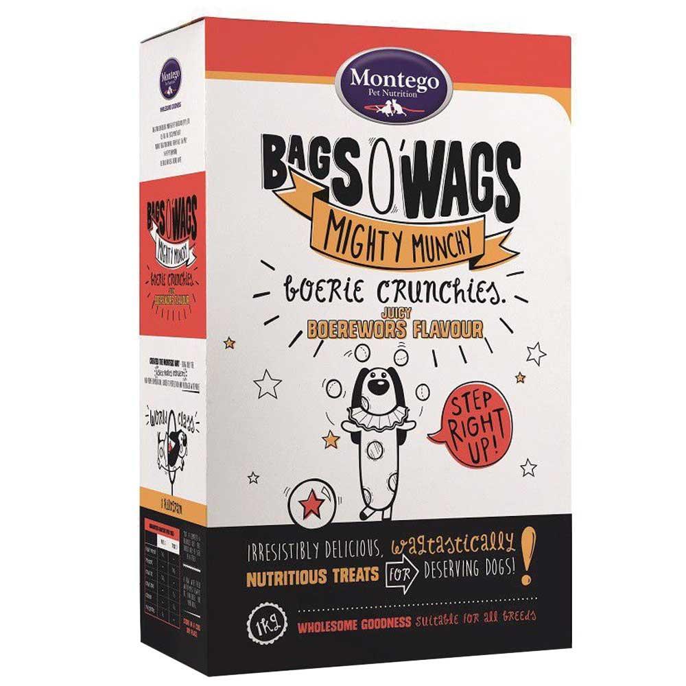Montego Bag O' Wags Crunchies Boerewors