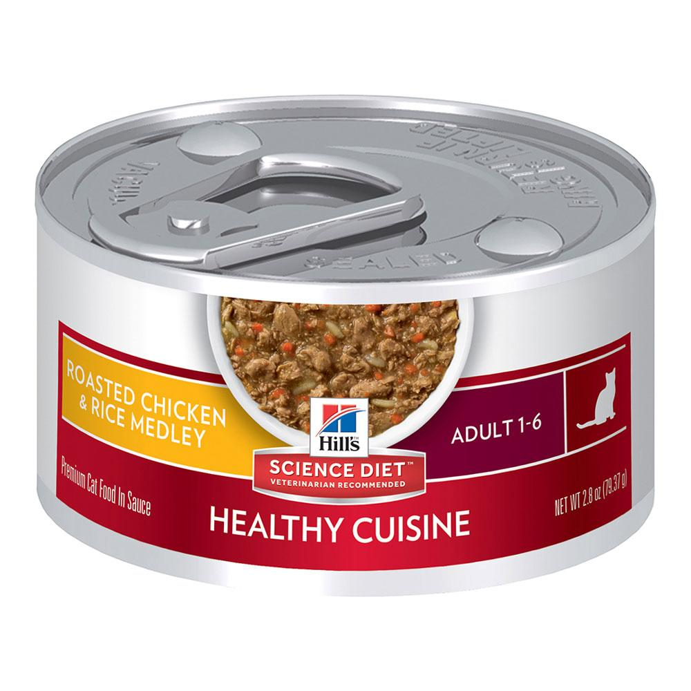 Hill's Feline Healthy Cuisine Roasted Chicken and Vegetables
