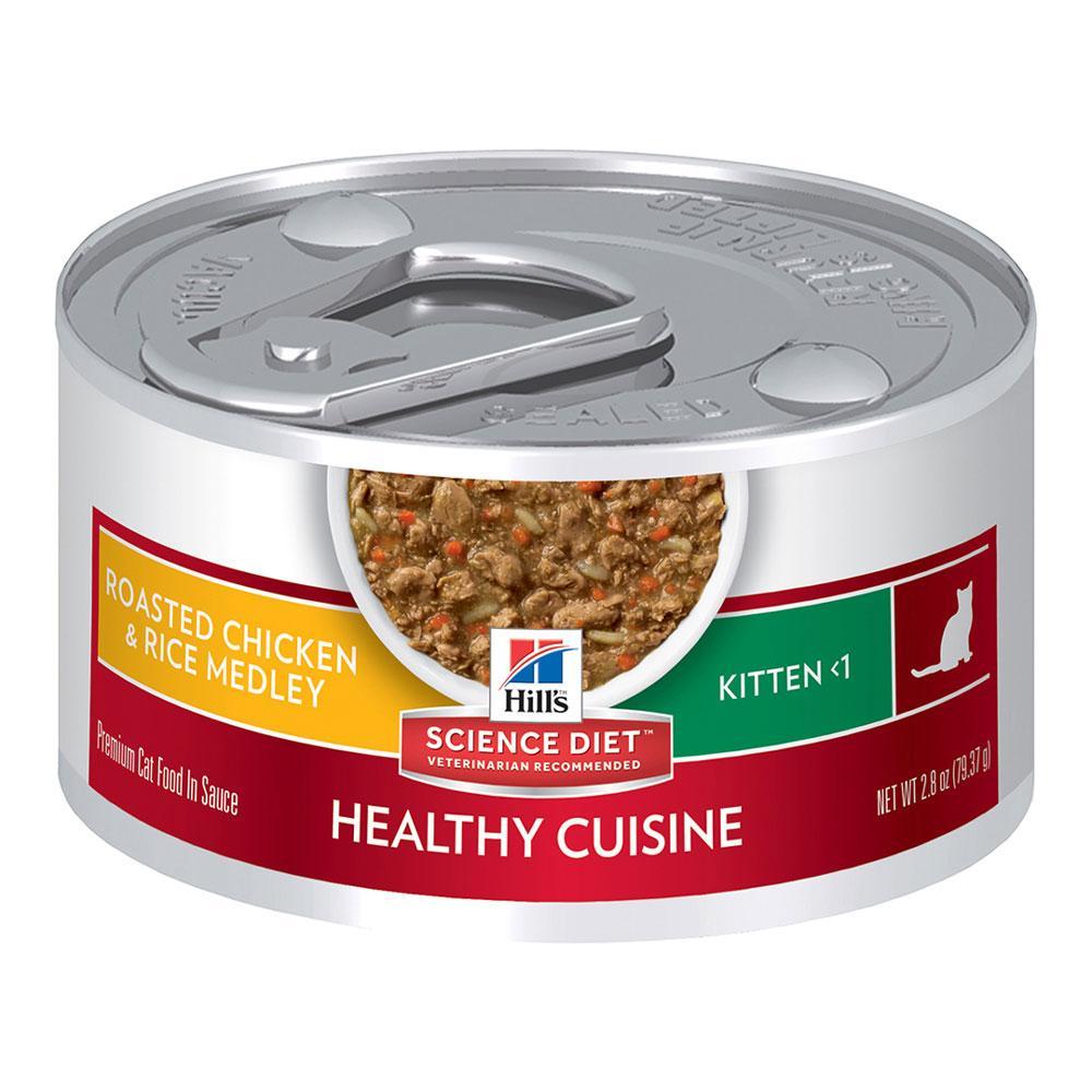 Hill's Feline Kitten Healthy Cuisine Stew Tin