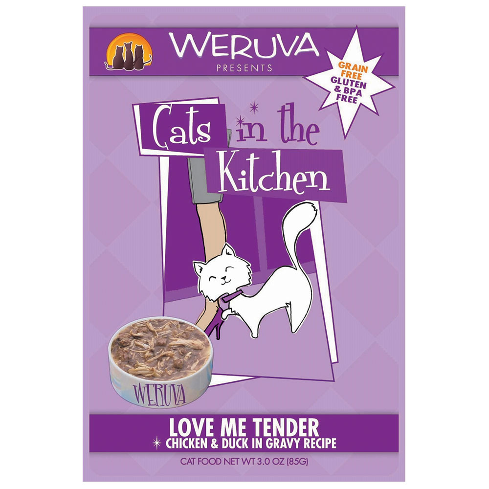 Weruva Cat in the Kitchen Love Me Tender Pouch
