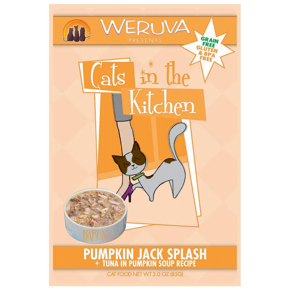 Weruva Cat in the Kitchen Pumpkin Jack Splash Pouch