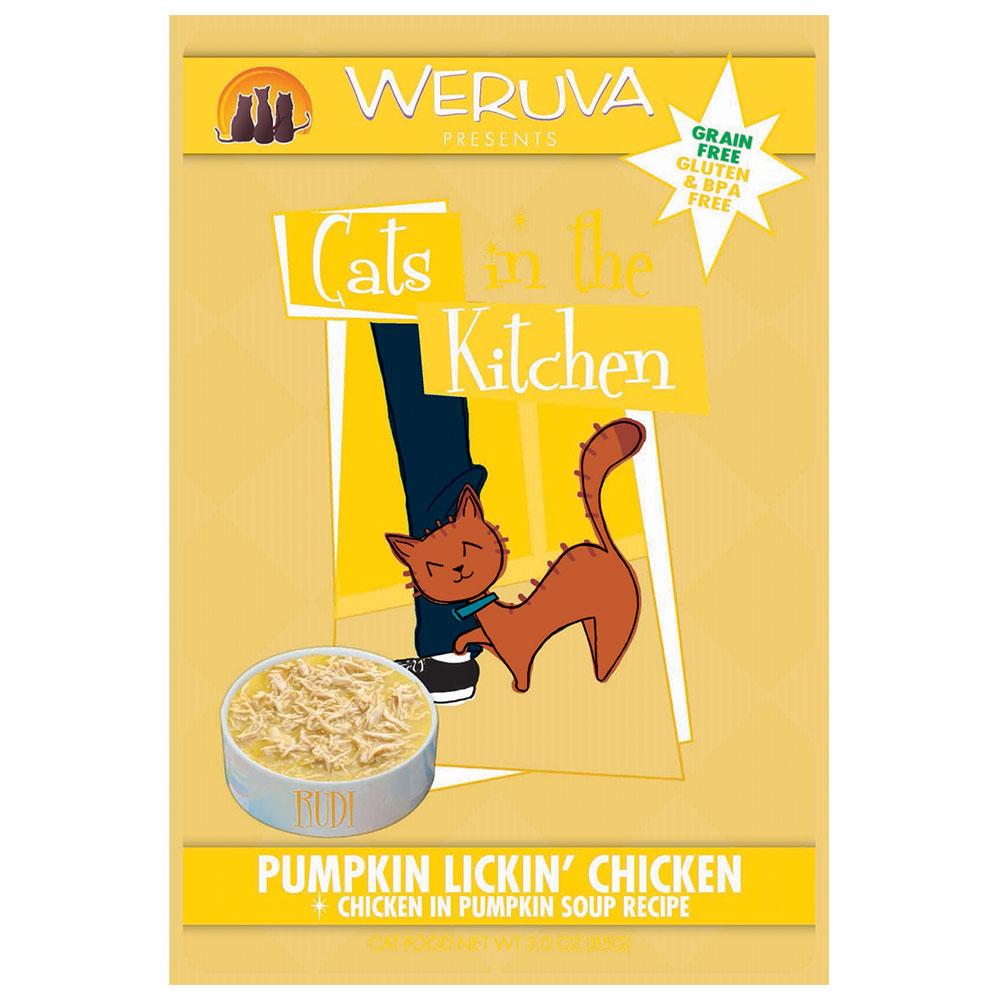 Weruva Cat in the Kitchen Pumpkin Lickin' Chicken Pouch