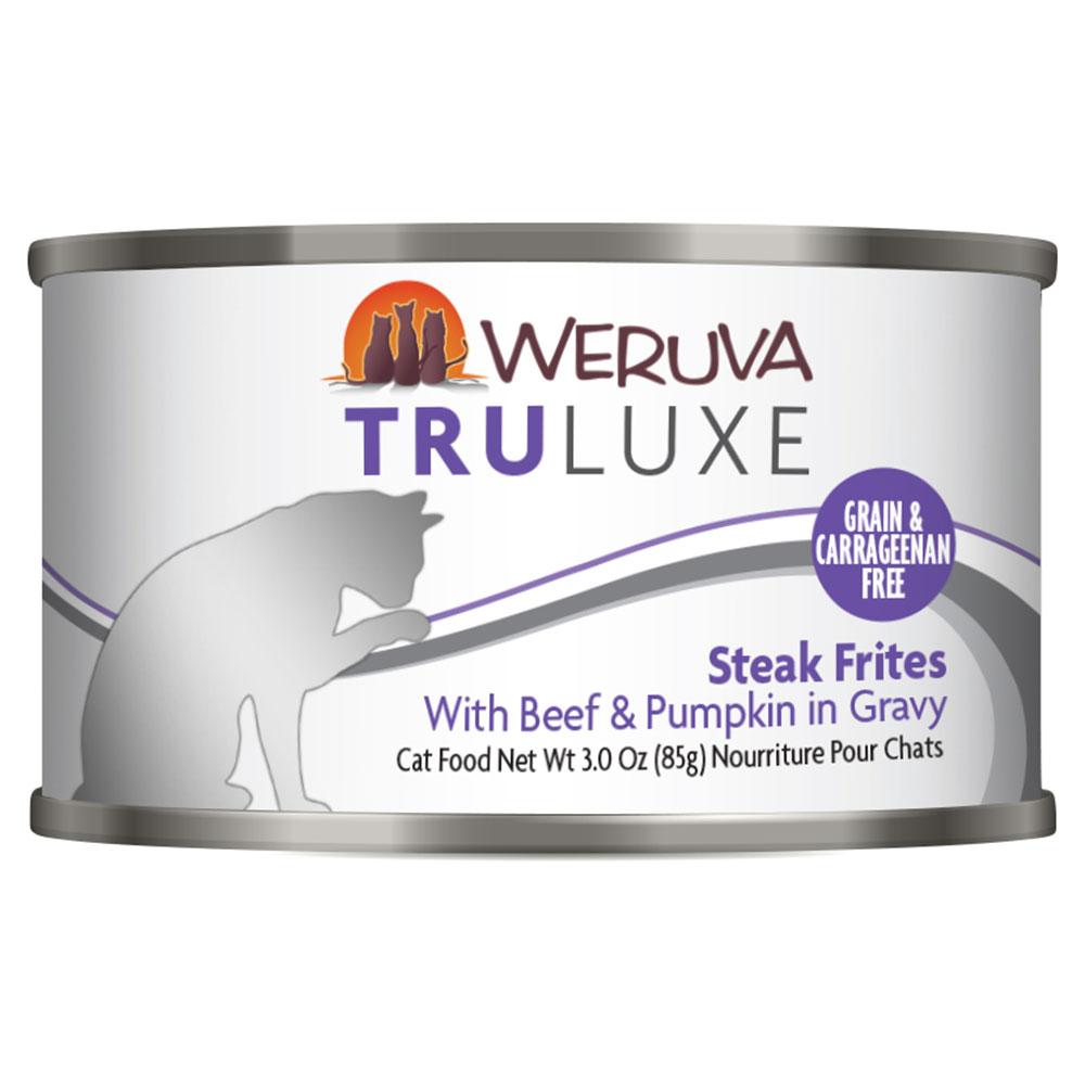 Weruva Steak Frites Cat Food in a Can