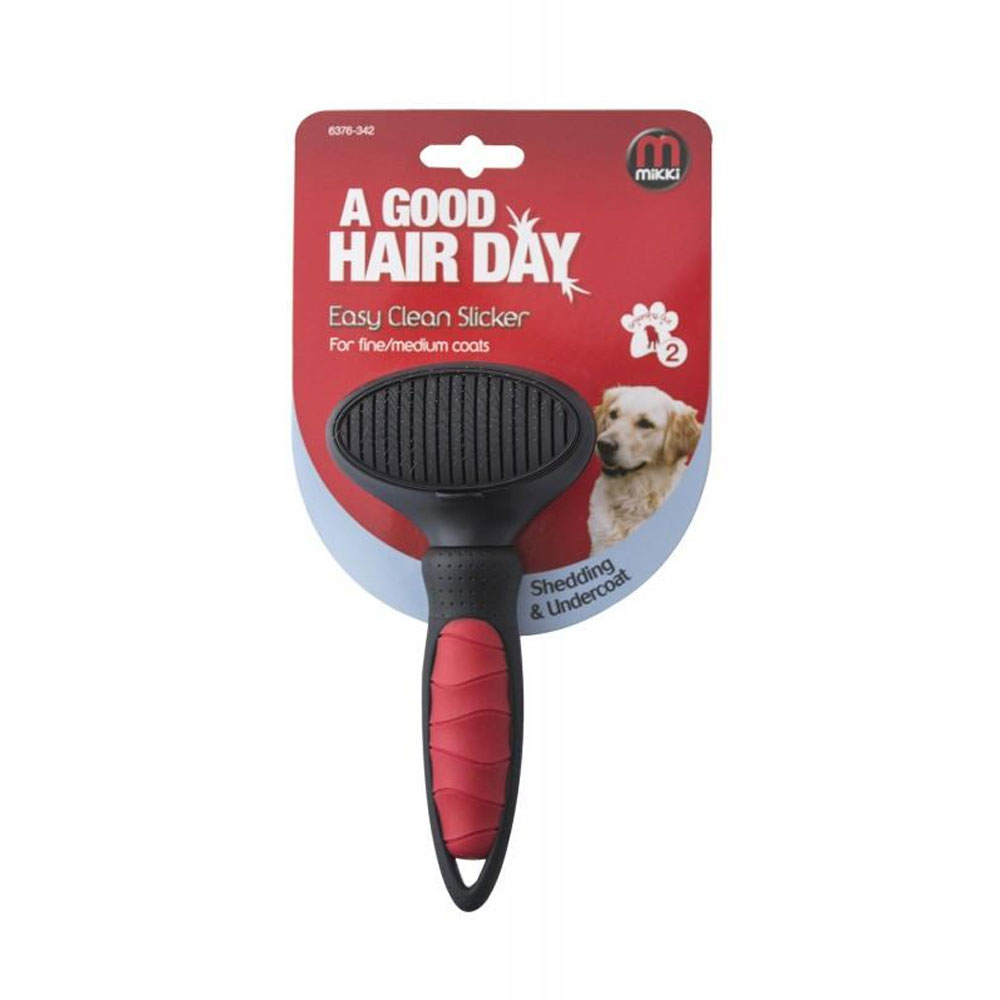 Mikki Easy Clean Slicker Brush