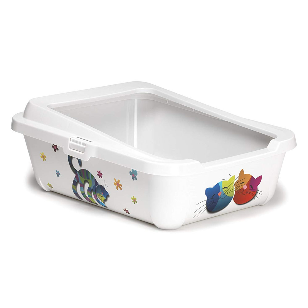 McMac Hercules Cat Litter Tray- Friends Forever Design