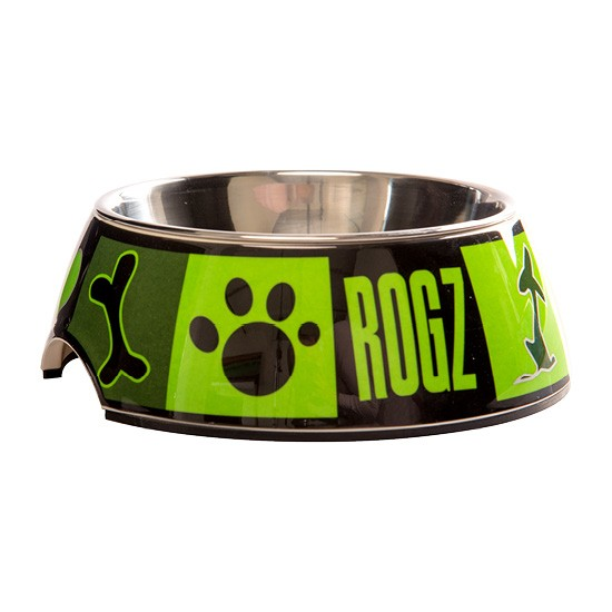 Rogz Bubble Bowl - Moca Bone