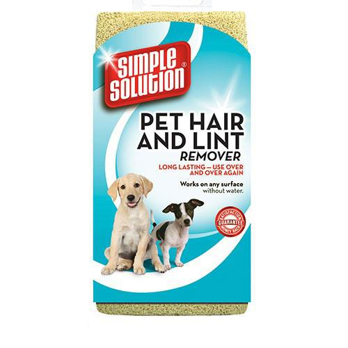 Simple Solution Pet Hair & Lint Remover Sponge to keep your clothes and Furniture Hair Free