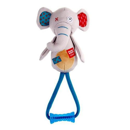 Gigwi Toy Plush Friends Elephant With Johnny Stick