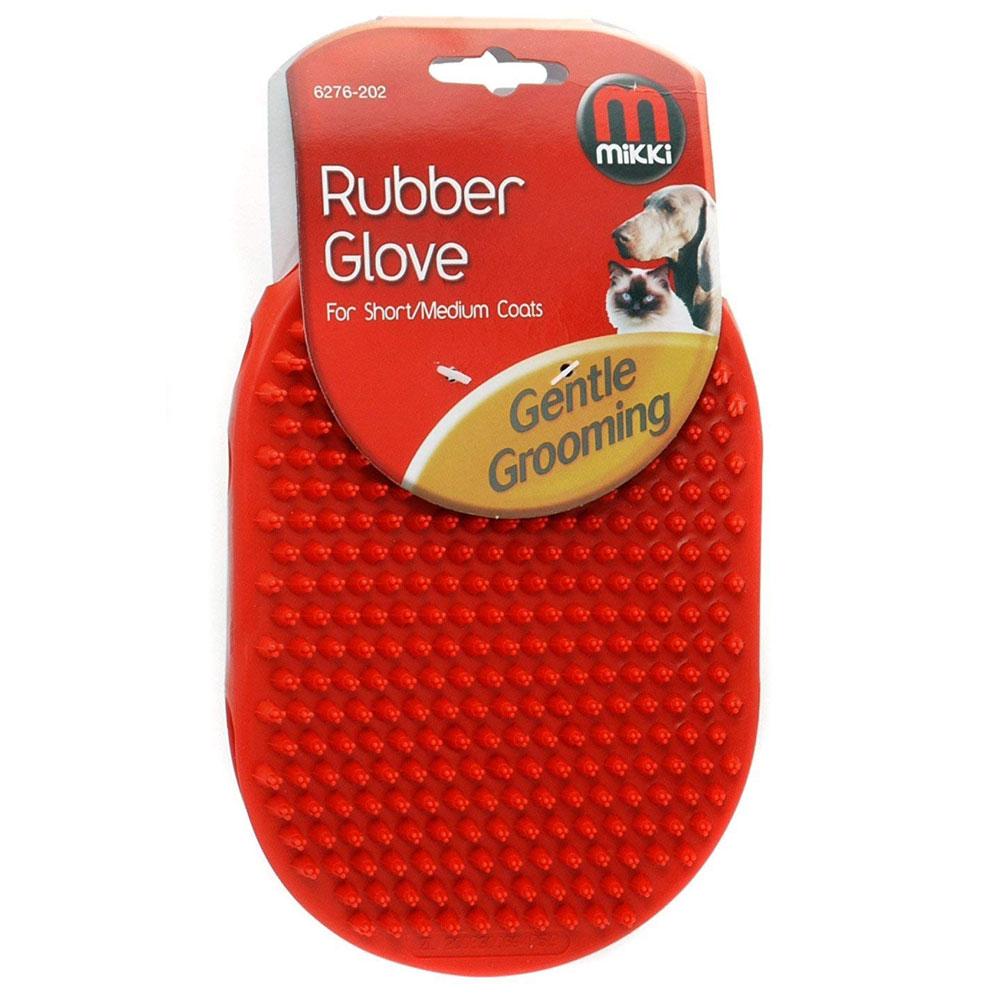 Mikki Rubber Grooming Glove