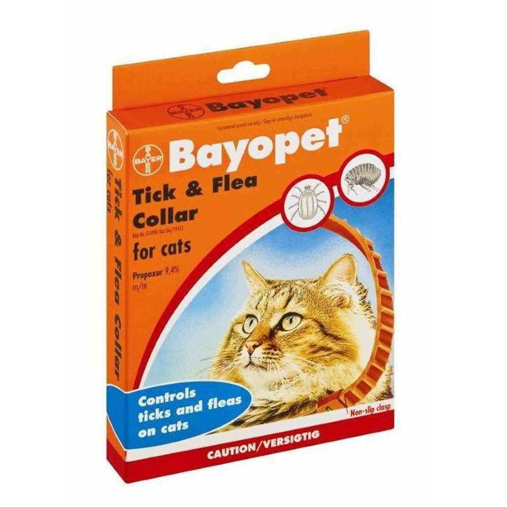 Bayer Bayopet Tick and Flea Collar for Cats