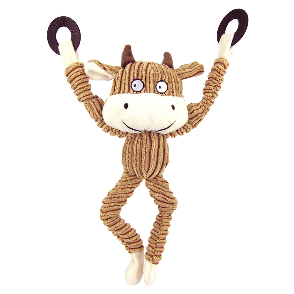 Best Pet Supplies Cow Bungee Toy