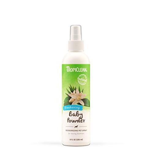 TropiClean Baby Powder Deodorising Pet Spray