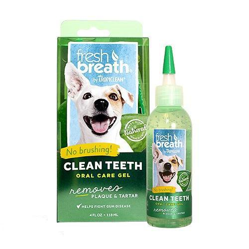 TropiClean Clean Teeth Oral Care Gel