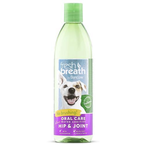 TropiClean Fresh Breath Plus Hip and Joint Water Additive