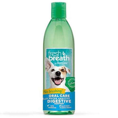 TropiClean Fresh Breath Plus Digestive Support Water Additive