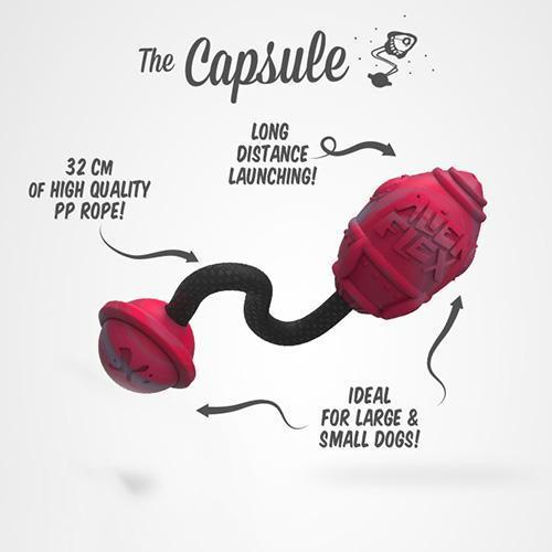 Alien Flex rubber toy Capsule