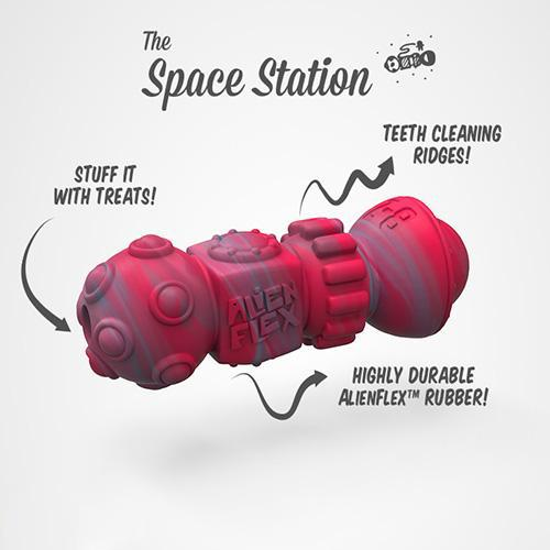 Alien Flex rubber toy Space Station