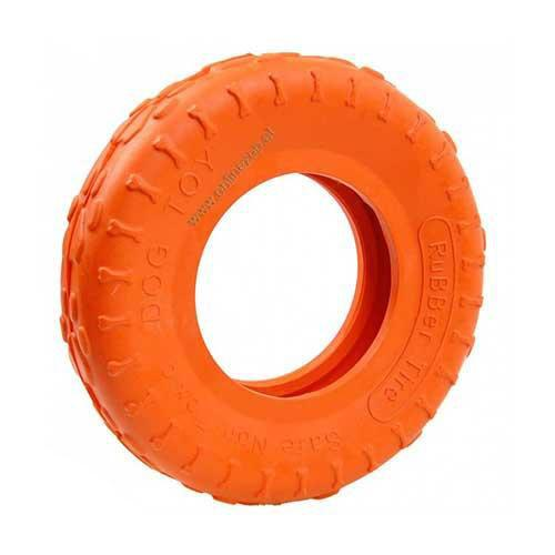 Uptown Dog Tyre - Orange - 20cm