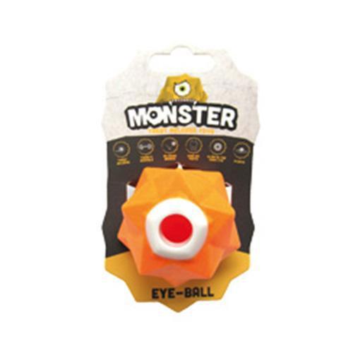 Pawz to Clawz Monster Treat Release Toy - Orange - 6.5cm