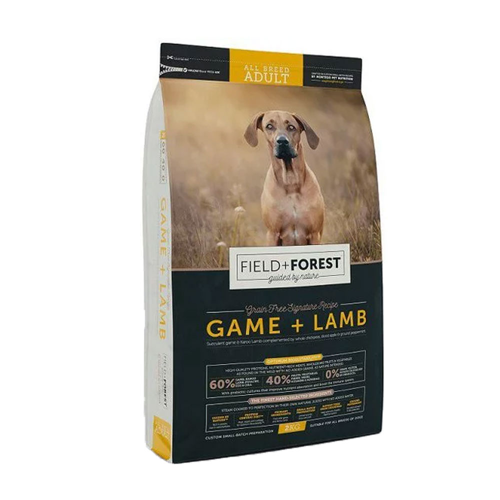 Montego Field Forest Grain Free High Protein Dog Food For All