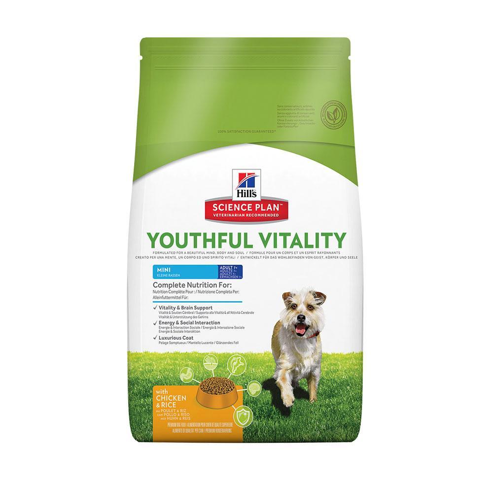 Hill's Canine Youthful Vitality Mini Breed