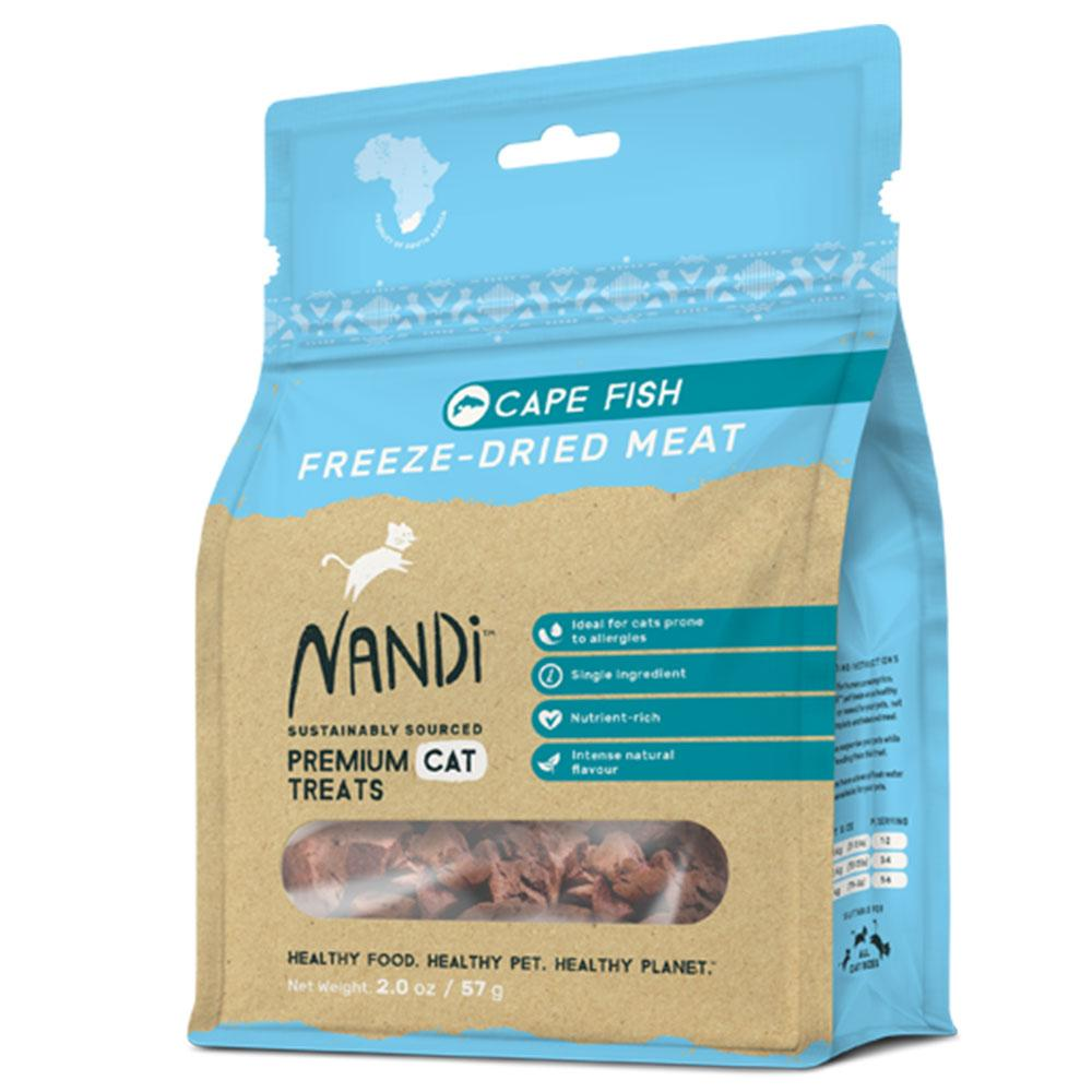 Nandi Freeze Dried Meat Fish Cat Treats