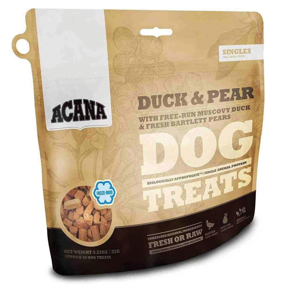 Acana Singles Free-Run Duck Freeze-Dried Treats for Dogs