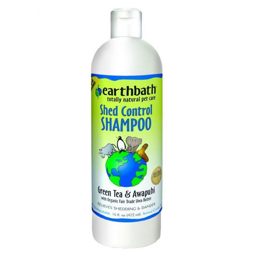EarthBath Shed Control Green Tea and Awapuhi Shampoo for Pets