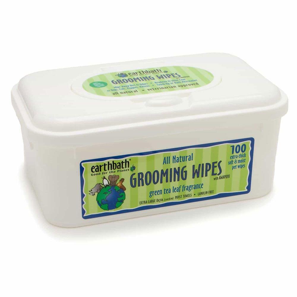 EarthBath Green Tea and Awapuhi Grooming Wipes