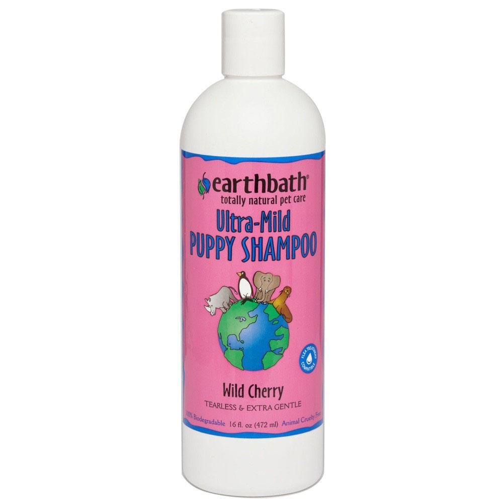 EarthBath Ultra Mild Wild Cherry Scented Shampoo For Puppies